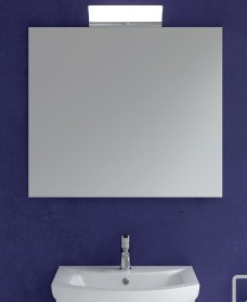 800mm x 700mm Mirror & 300mm Angela Light