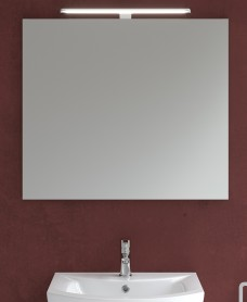 800mm x 700mm Mirror & Nayra Light
