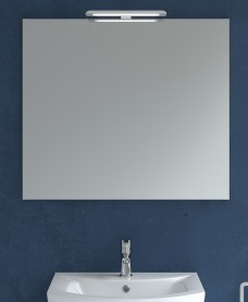 800mm x 700mm Mirror & Nikita Light