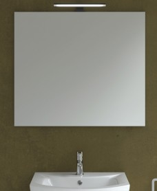 800mm x 700mm Mirror & 300mm Pandora Black Light