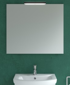 800mm x 700mm Mirror & Veronica Black Light