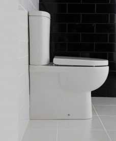 Sigma Fully Shrouded Close Coupled WC & Delta Seat