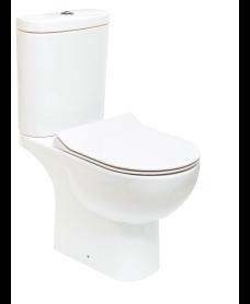 Sigma Close Coupled Open Back WC & Delta Slim Seat