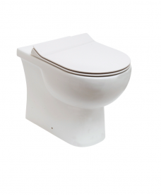 Sigma Back to Wall WC & Delta Slim Seat