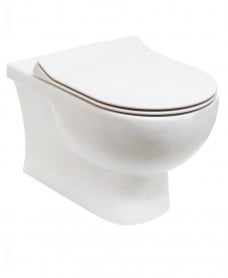 Sigma Rimless Wall Hung WC & Delta Slim Seat