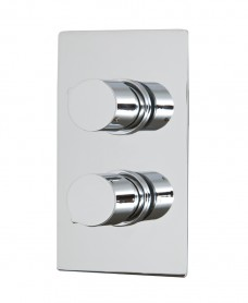 Tristan Thermostatic Shower Valve Rectangle with Diverter