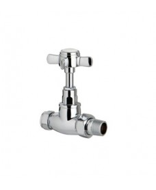 Traditional Straight Radiator Valve (Set of 2)
