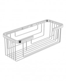 Cora Double Wire Soap Basket Chrome