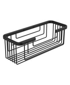 Cora Double Wire Soap Basket Black