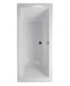 Pacific Endura Double Ended 1600x700mm Bath