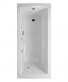 Pacific Single Ended 1800x800mm 12 Jet Bath