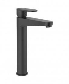 Norfolk Eco Flow Freestanding Basin Mixer Matt Black