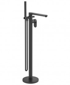 Norfolk Freestanding Bath Shower Mixer Matt Black