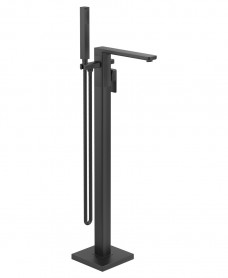 Contour Freestanding Bath Shower Mixer Matt Black