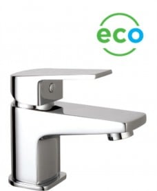 Neo Cloakroom Eco Flow Basin Mixer c/w Mushroom Waste