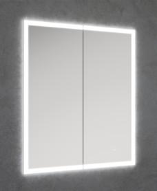 Sansa Recessed illuminated cabinet 600x700