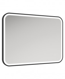Astrid Beam Illuminated Metal Frame Rectangle 600x800mm Mirror