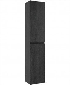 Universal 30cm Wall Column - Dark Wood