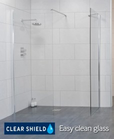 Urban 900 Wetroom Panel - Adjustment 870-900mm