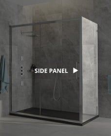 Aspect 8mm Framed Side Panel 800x2000