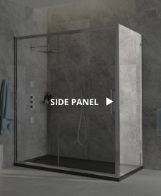 Aspect 8mm Framed Side Panel 1000x2000