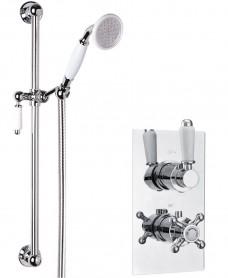 VIRGO Dual Control Shower Valve & Traditional Slide Rail Kit