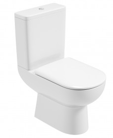 Viva Close Coupled WC - Soft Close Seat