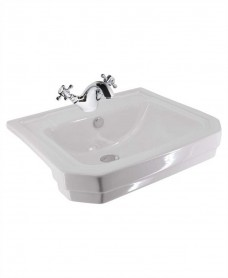 Westbury Semi Recessed Basin 1 Tap Hole