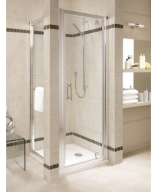 Geo 6 800 Pivot Shower Door - Adjustment 750-800mm - *50% Off While Stocks Last
