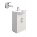 Belmont 55cm Vanity Unit - Special Offer* - includes Alpha Basin Mono & waste