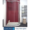 City Plus 900 x 800 Offset Quadrant Door