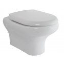 Compact Wall Hung Toilet and Soft Close Seat