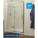 K2 1150 Sliding Shower Door - Adjustment 1100-1160mm