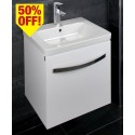 Resort 650 Vanity Unit White