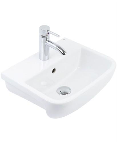 Rubix 52cm Semi Recessed Basin