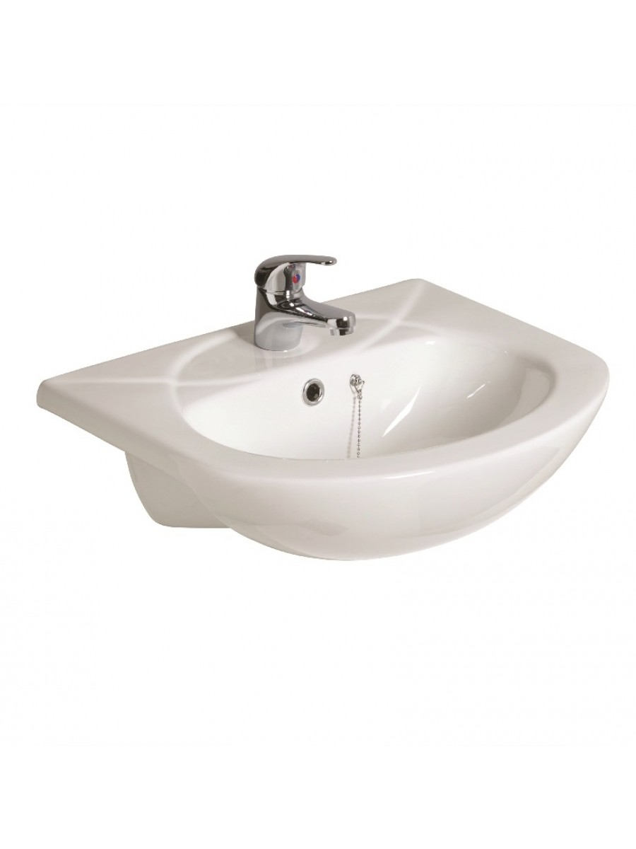 Strata 500 Semi Recessed Basin 1TH