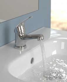 Alpha Single Lever Basin Mixer with FREE Click Clack Basin Waste