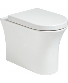Amanda Back to Wall Rimless WC with Quick Release Soft Closing Seat