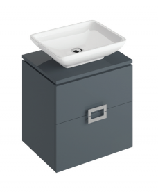 Katie Antracite 55 CounterTop Vanity Unit and Aimee Basin