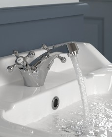 Ascot Basin Mixer with FREE Click Clack Basin Waste