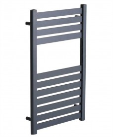 Ashton 800 x 500 Heated Towel Rail - Anthracite