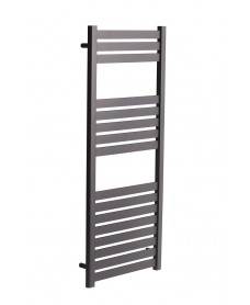 Ashton  1200 x 500 Heated Towel Rail - Anthracite
