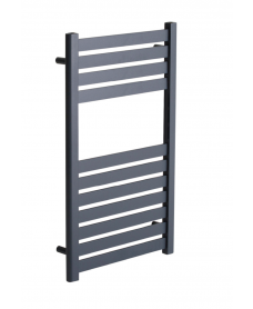 Ashton 800 x 500 Heated Towel Rail Anthracite