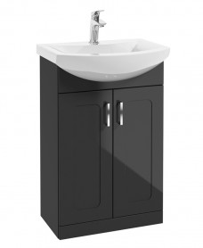 Bristol 55cm Graphite Vanity Unit & Basin