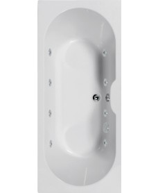 Calisto 1700x750 Double Ended 8 Jet Whirlpool Bath