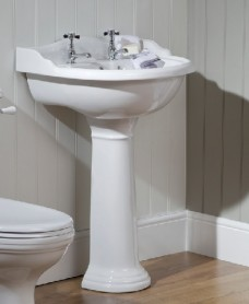 Cambridge Basin 60cm & Pedestal  2 TH