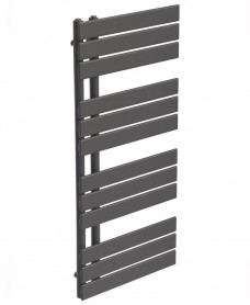 Como 1126 x 550 Heated Towel Rail - Anthracite