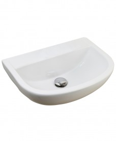 Compact Medical 500 Washbasin No Tap Hole
