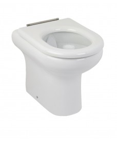 Compact Rimless Extended Height BTW WC