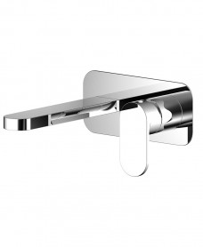 Norfolk Eco Flow Wall Mounted Basin Mixer